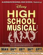 HS musical poster