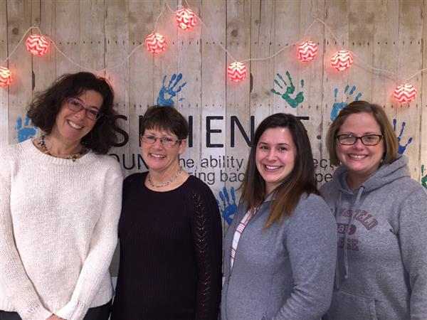 Adjustment Counselors, Beth Mintz, Deb Gutterman, Amanda Davis and Sarah McNulty