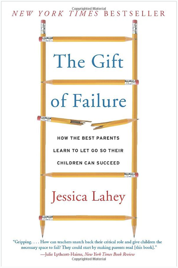 Book Cover:  The Gift of Failure