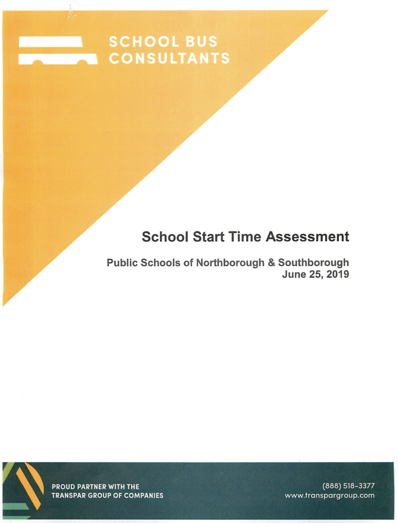 School Bus Consulting Report